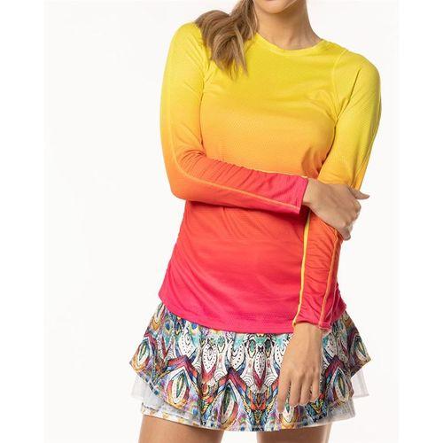 49720b3cb30e Lucky in Love Core Long Sleeve, CT474 645 | Women's Tennis Apparel