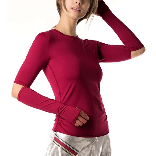 Lucky in Love Go For the Metal Olympian Long Sleeve - Brandy