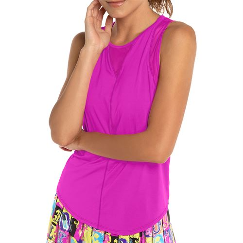 Lucky In Love L UV Protection Chill Out Tank - Pitaya