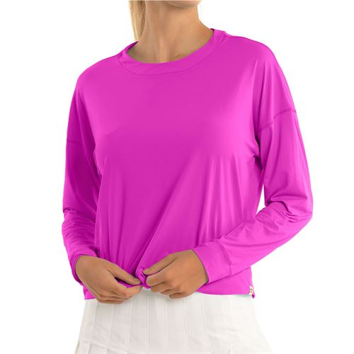 Lucky in Love L UV Protection Hype Long Sleeve Top