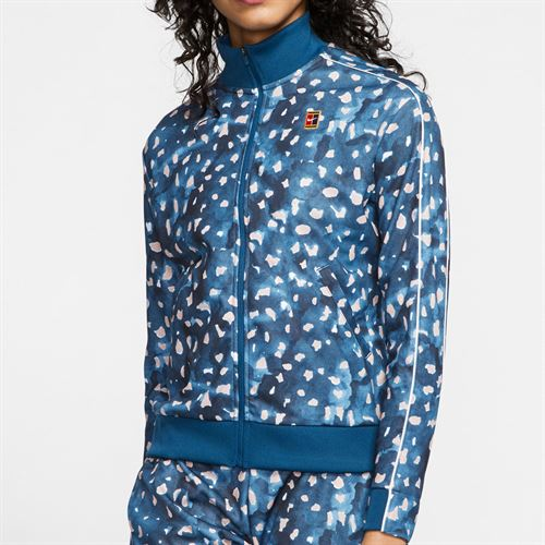 Nike Court Full Zip Jacket Womens Valerian Blue CU0033 432