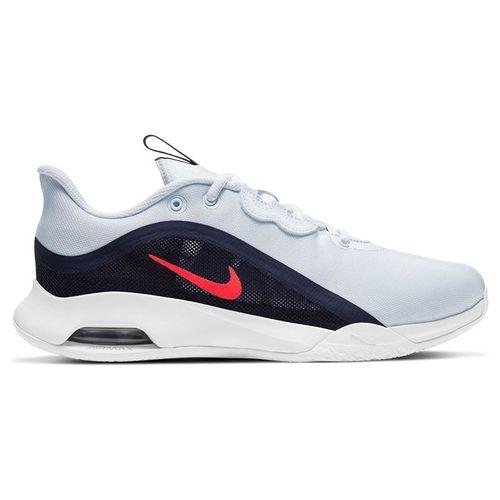 Nike Court Air Max Volley Womens Tennis Shoe Football Grey/Bright Crimson CU4275 003