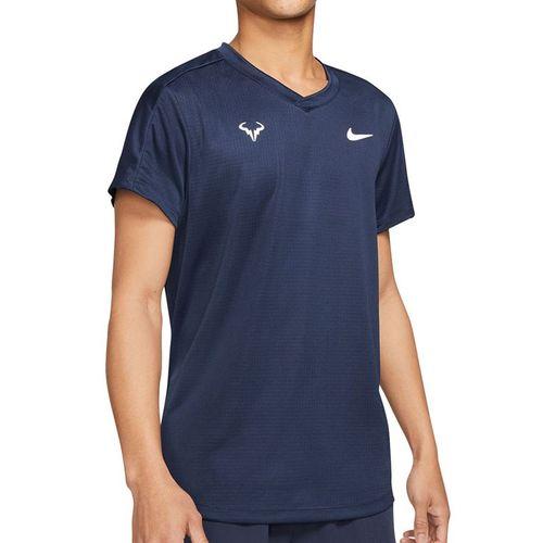 Nike Rafa Challenger Shirt Mens Obsidian/White CV2472 451
