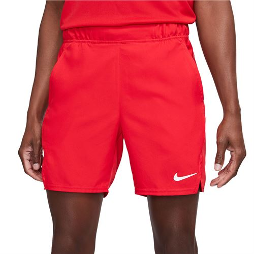 Nike Court Victory 7 inch Short - University Red/White
