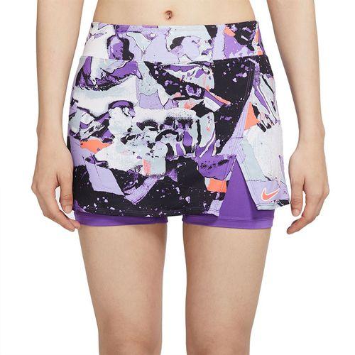 Nike Court Victory Skirt Womens Wild Berry/Bright Mango CV4727 528