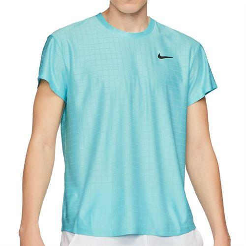 Nike Court Breathe Advantage Shirt Mens COPA/Black CV5032 482