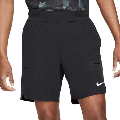 Nike Court Advantage 7 inch Short - Black/White