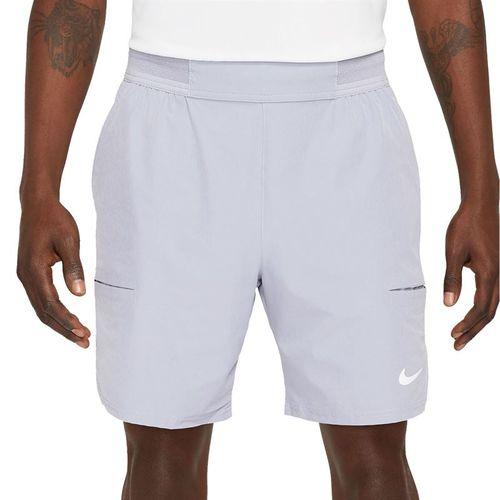 Nike Court Dri FIT Advantage Short Mens Indigo Haze/White CV5046 519