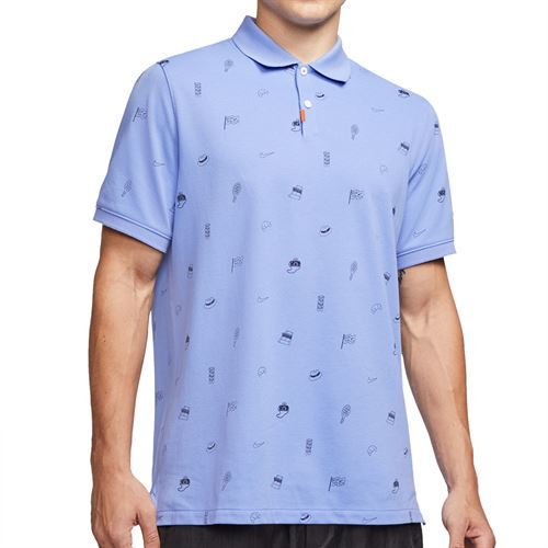 Nike The Nike Polo Shirt Mens Royal Pulse CV9318 478