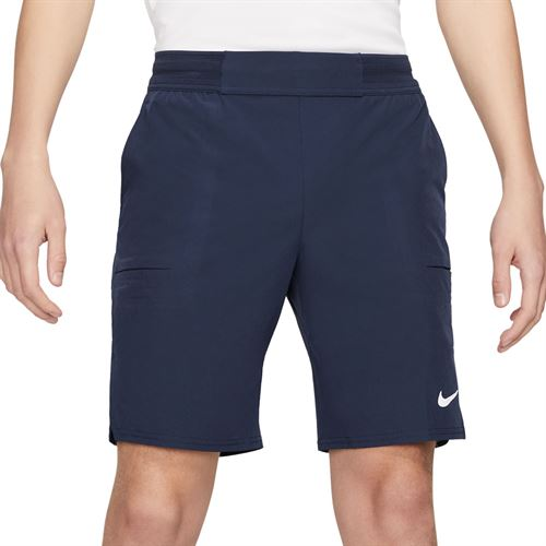 Nike Court Dri FIT Advantage Short Mens Obsidian/White CW5944 451
