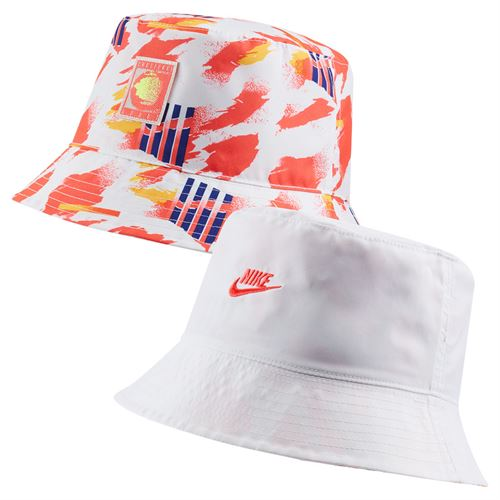 Nike Court Reversible Bucket Hat - White