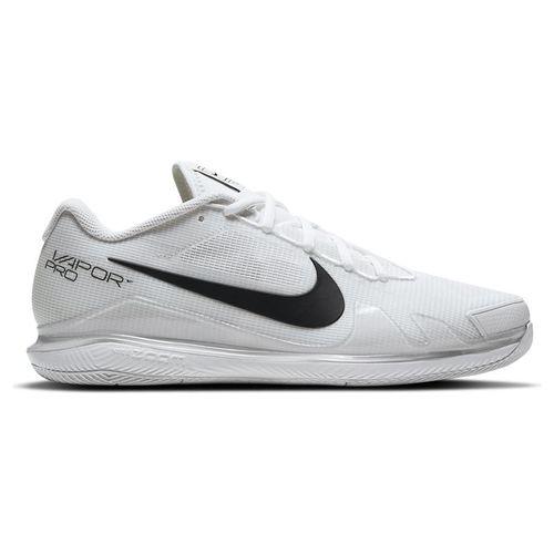 Nike Court Air Zoom Vapor Pro Mens Tennis Shoe White/Black CZ0220 124