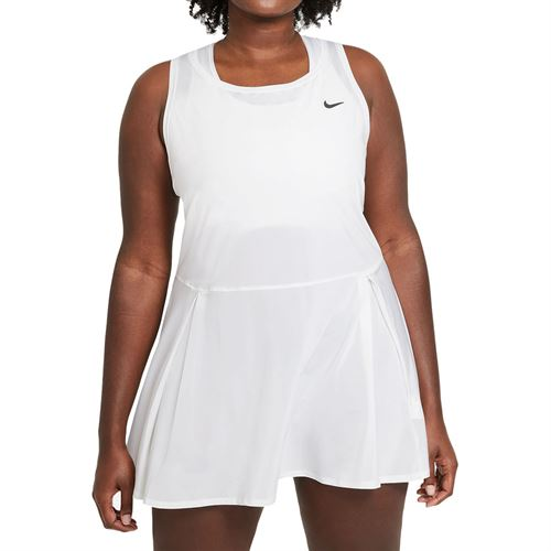 Nike Court Advantage Dress Plus Size Womens White/Black DB6630 100