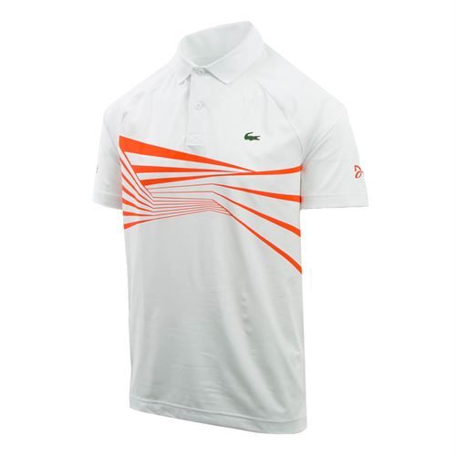 33534d8f87 Lacoste Ultra Dry Geo Polo, DH3387 URK | Men's Tennis Apparel