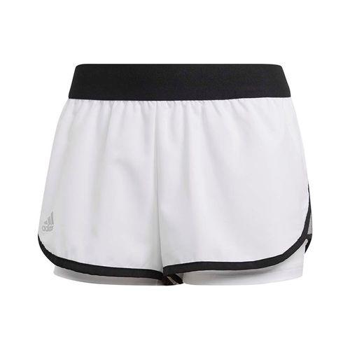 adidas Club Short - White/Black