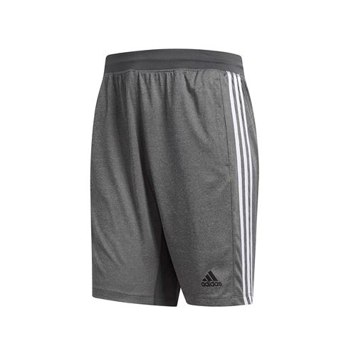 outlet store 891a3 eb584 adidas Sport 3 Stripe 9 Inch Short - Grey Heather