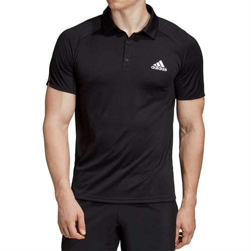 adidas Club Colorblock Polo - Black/White