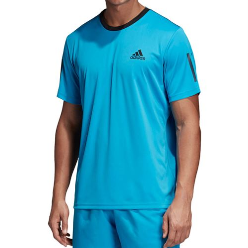 ff00dbed1d adidas Club 3 Stripe Crew, DU0861 | Men's Tennis Apparel