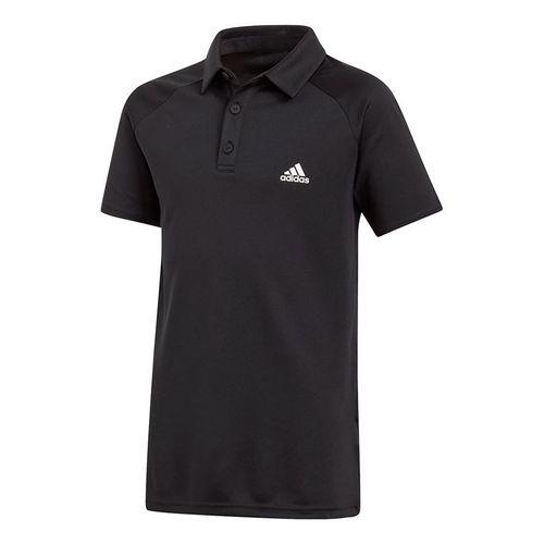 adidas Boys Club Polo - Black/White