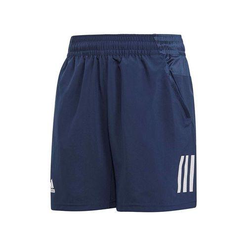4d6bfd6c247a adidas Boys Club 3 Stripe Short - Collegiate Navy