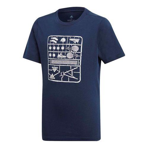 7d1aa7822d03 adidas Kids Graphic Tee - Collegiate Navy