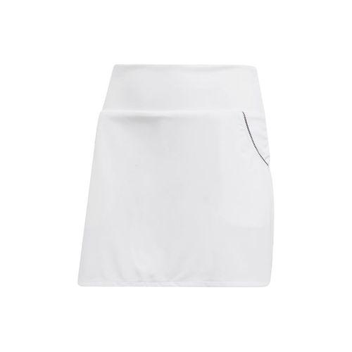 adidas Girls Club Skirt - White