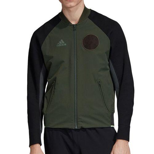 adidas NY City Jacket Mens Legend Earth DX4326