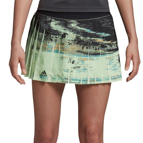 adidas NY Skirt Womens Glow Green/Black DZ6235