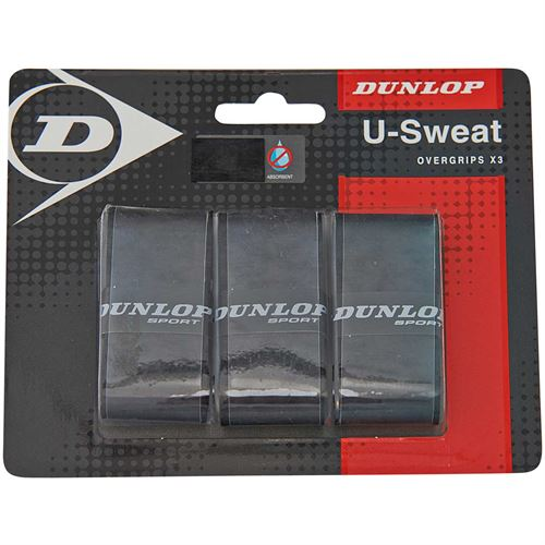 Dunlop U Sweat Tennis Overgrip 3 Pack
