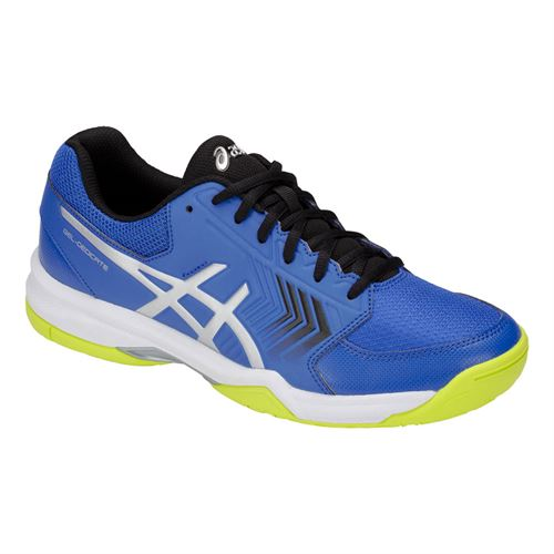 separation shoes 70524 c1c36 Asics Gel Dedicate 5 Mens Tennis Shoe - Illusion Blue Silver