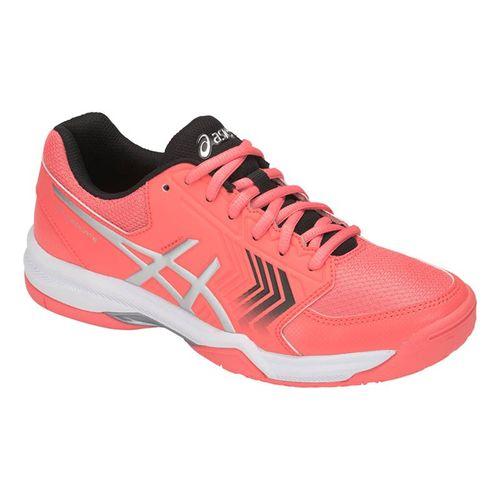 8365208edad Asics Gel Dedicate 5 Womens Tennis Shoe - Papaya Silver