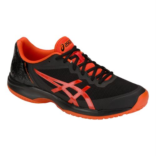 799e08a63491f Asics Gel Court Speed Mens Tennis Shoe - Black Cherry Tomato
