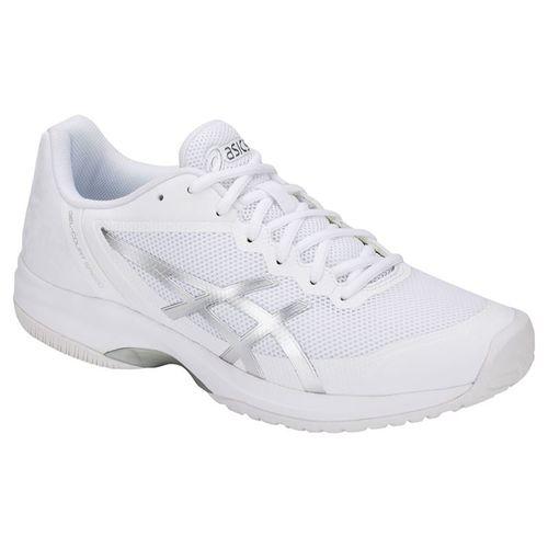 Asics Gel Court Speed Mens Tennis Shoe - White/Silver