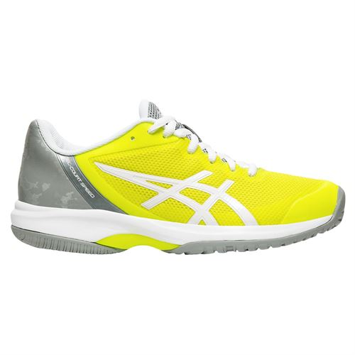 Asics Gel Court Speed Womens Tennis Shoe - Safety Yellow/White