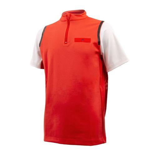 adidas Stella McCartney Boys Zip Shirt - Active Red