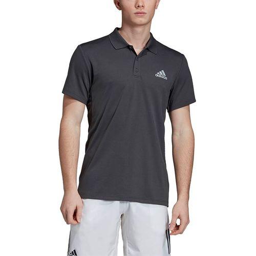 adidas Club Solid Polo - Dark Grey Heather