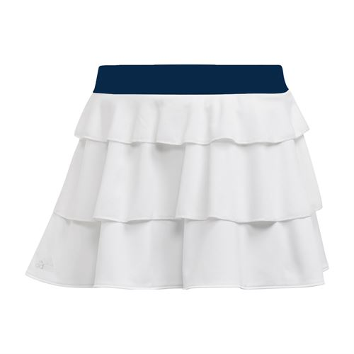 adidas Girls Frill Skirt - White