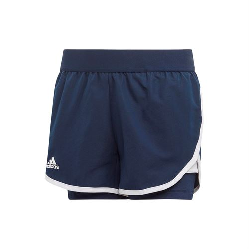 adidas Girls Club Short - Collegiate Navy
