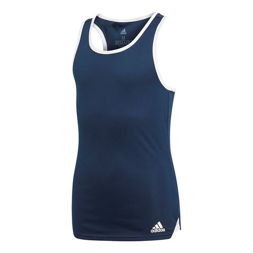 adidas Girls Club Tank - Collegiate Navy