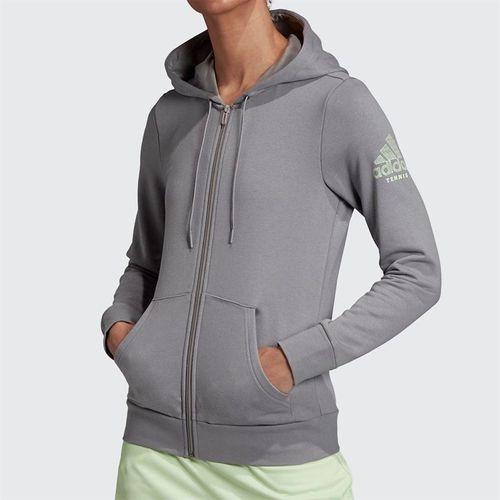 adidas Club Hoodie - Grey Heather