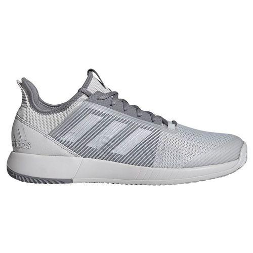 adidas adizero Defiant Bounce 2 Mens Tennis Shoe - Grey One/Grey Three