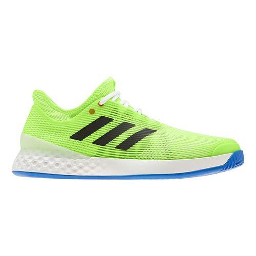 adidas Adizero Ubersonic 3 Mens Tennis Shoe Signal Green/Core Black/Glory Blue EF2768