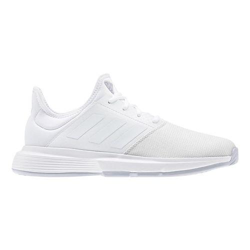adidas Game Court Womens Tennis Shoe White/Dash Grey EG2016