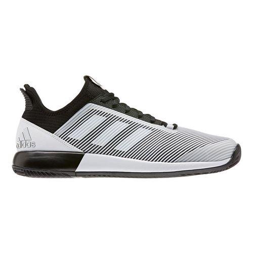 adidas Defiant Bounce 2 Mens Tennis Shoe Core Black/White EH0948