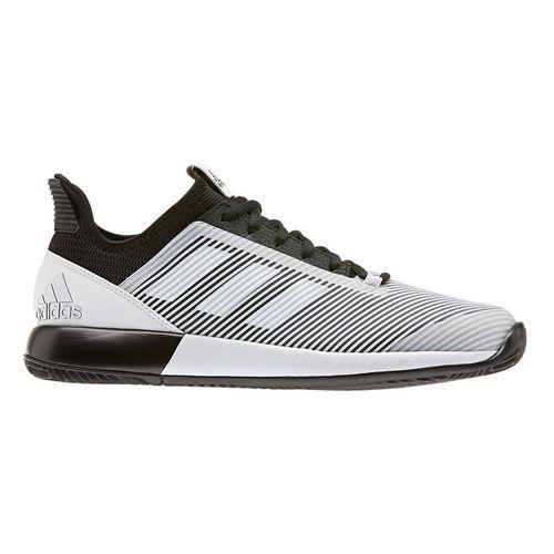 adidas Defiant Bounce 2 Womens Tennis Shoe Core Black/White EH0952