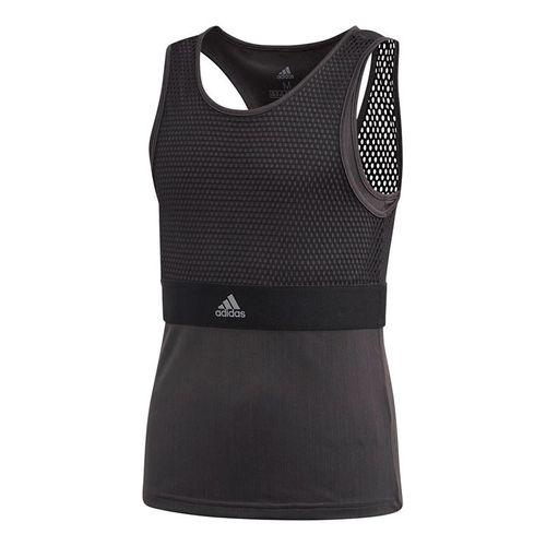 adidas Girls NY Tank - Black