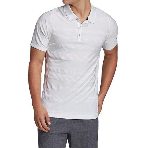 adidas Match Code Polo - White