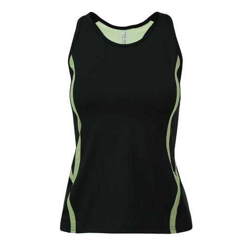 Inphorm Marcela Tank - Black/Lime