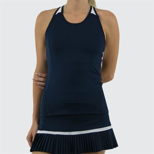 Inphorm Classic New Alla Tank - Navy/White