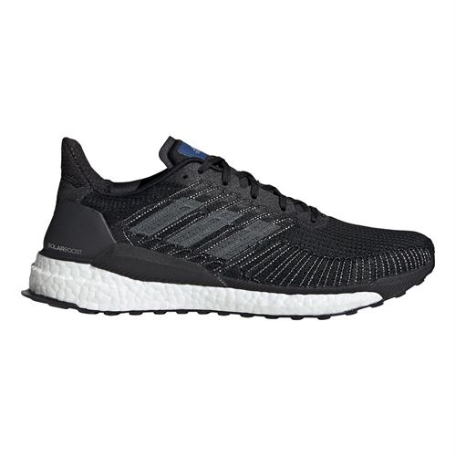 Adidas Solar Boost Mens Running Shoe Core Black/Grey Five/Collegiate Royal F34100